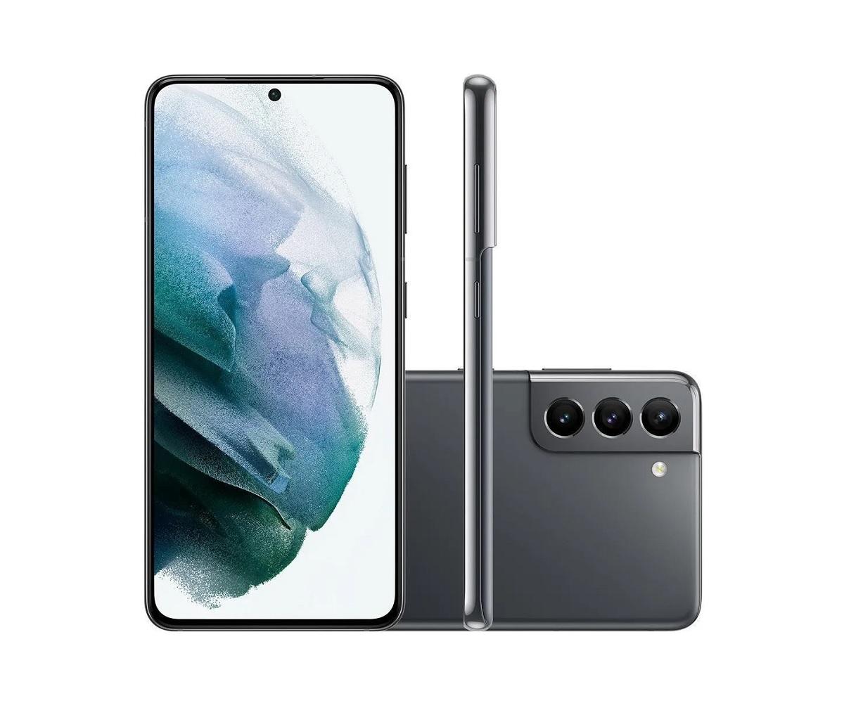 Smartphone Samsung Galaxy S21 5G 128GB  - Novo
