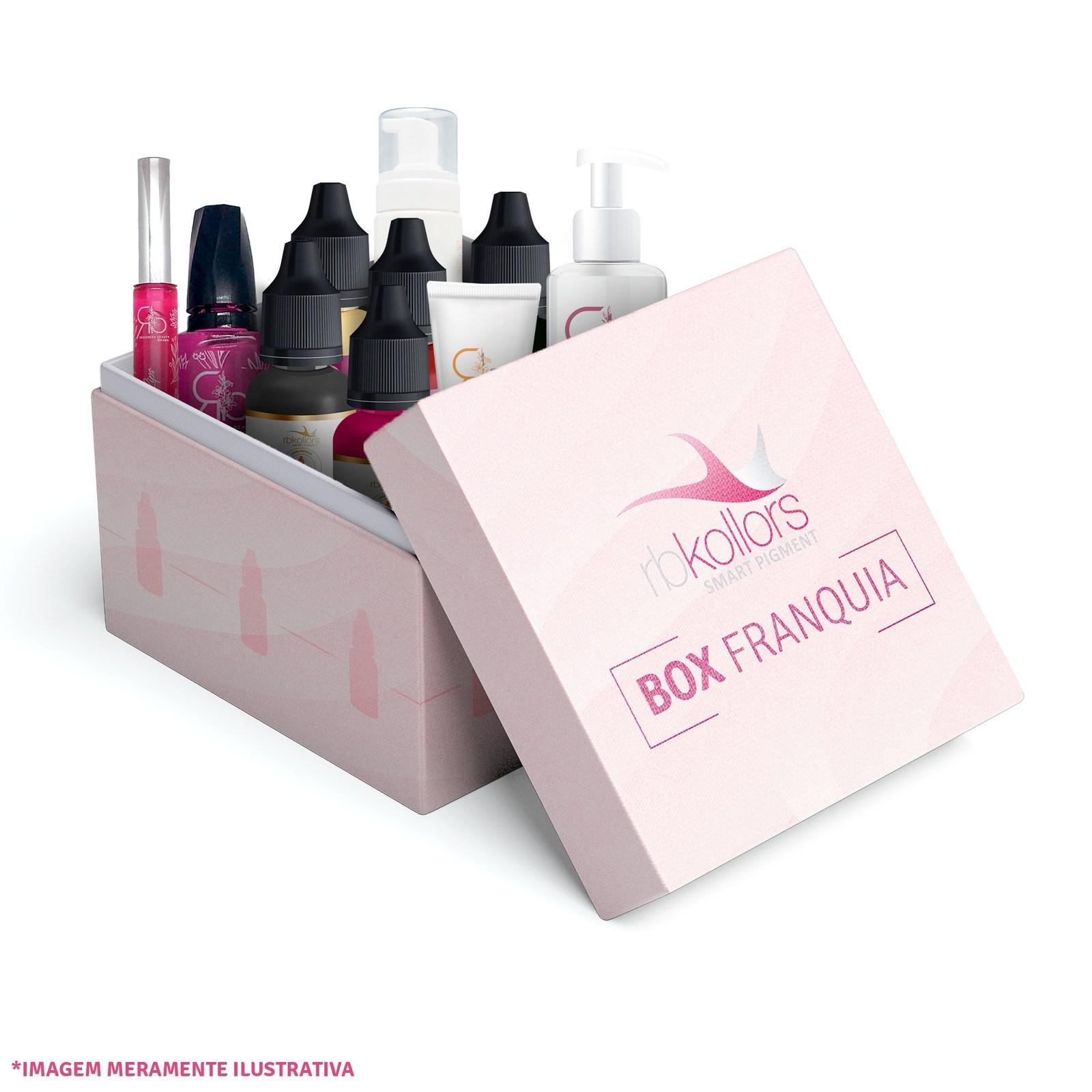 Box Franquia - Pigmentos e Dermocosméticos