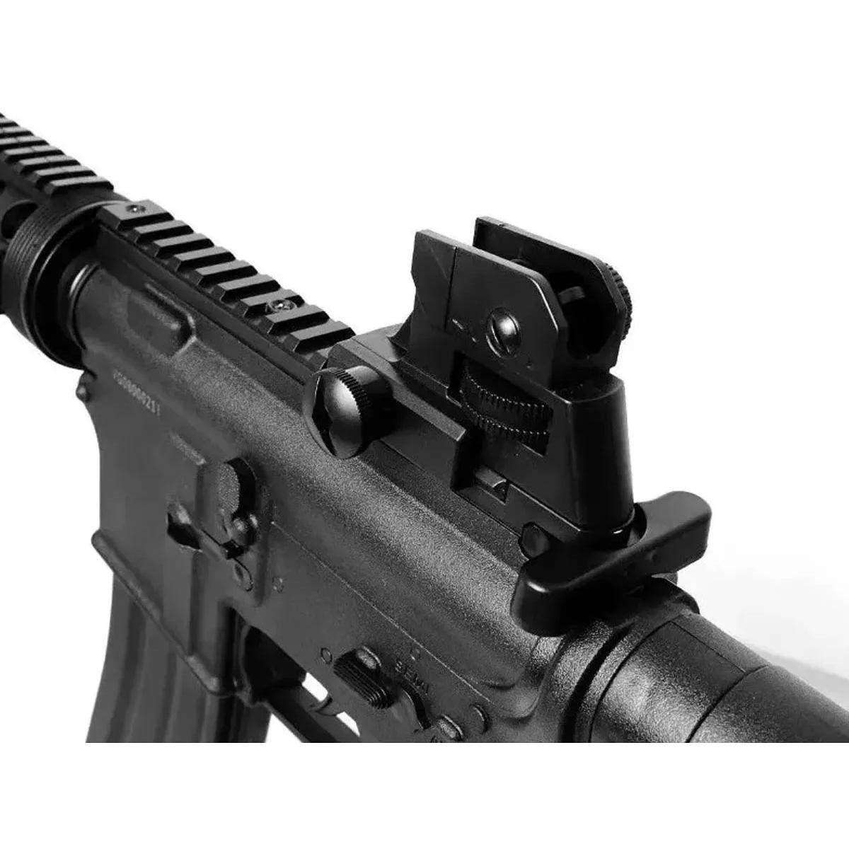 Airsoft Kit Pistola E Rifle M4a1 E Glock V307 6mm + 1000 Bbs
