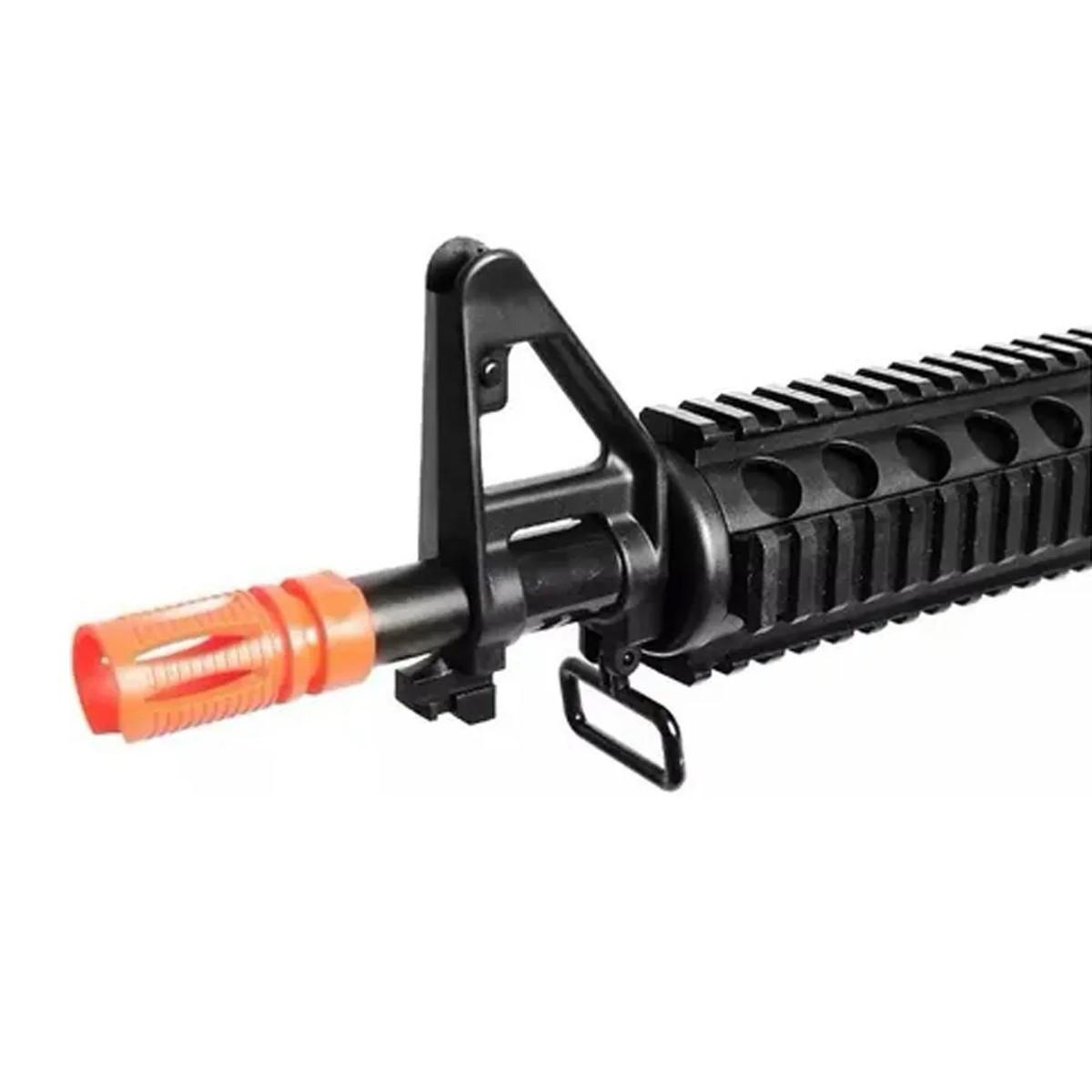 Airsoft Kit Pistola E Rifle M4a1 E Glock V307 Mola 6mm Kit 1