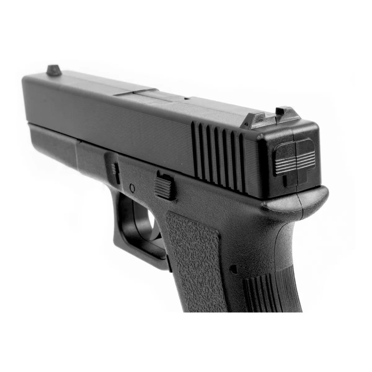 Airsoft Kit Pistola E Rifle M4a1 E Glock V307 Mola 6mm Kit 4