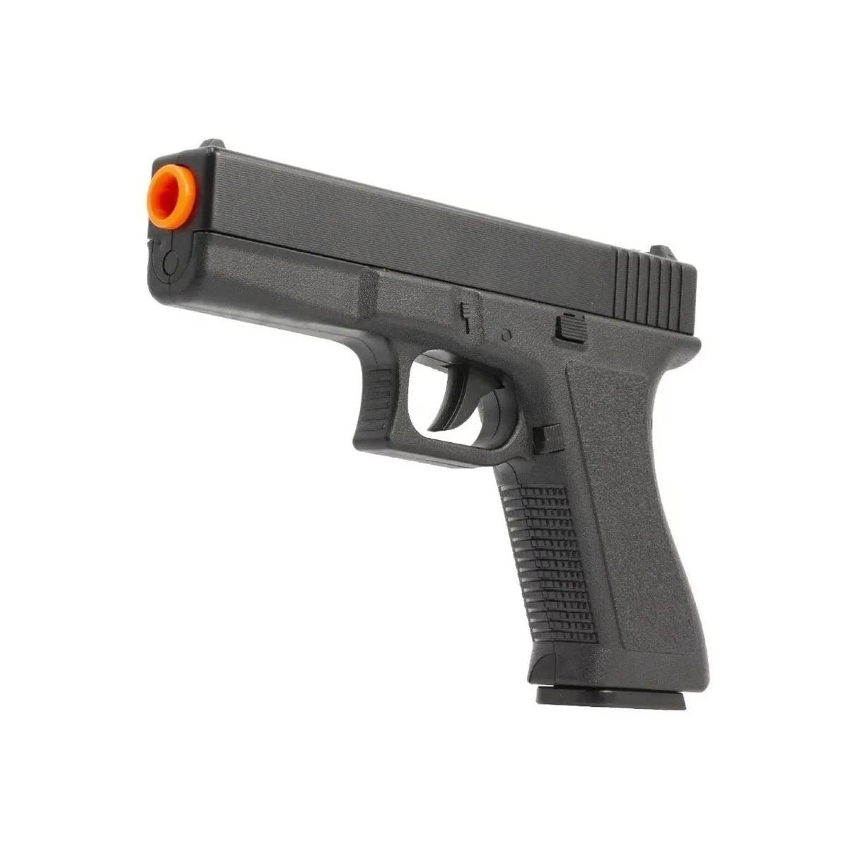 Airsoft Kit Pistola E Rifle M4a1 E Glock V307 Mola 6mm Kit 5