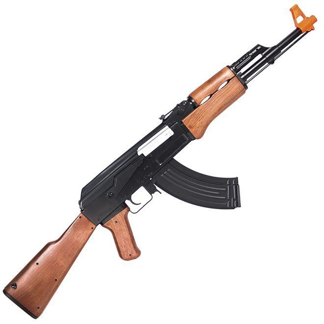 Rifle Airsoft Eletrico AEG Kalashnikov AK47 Cyma 6mm Toy