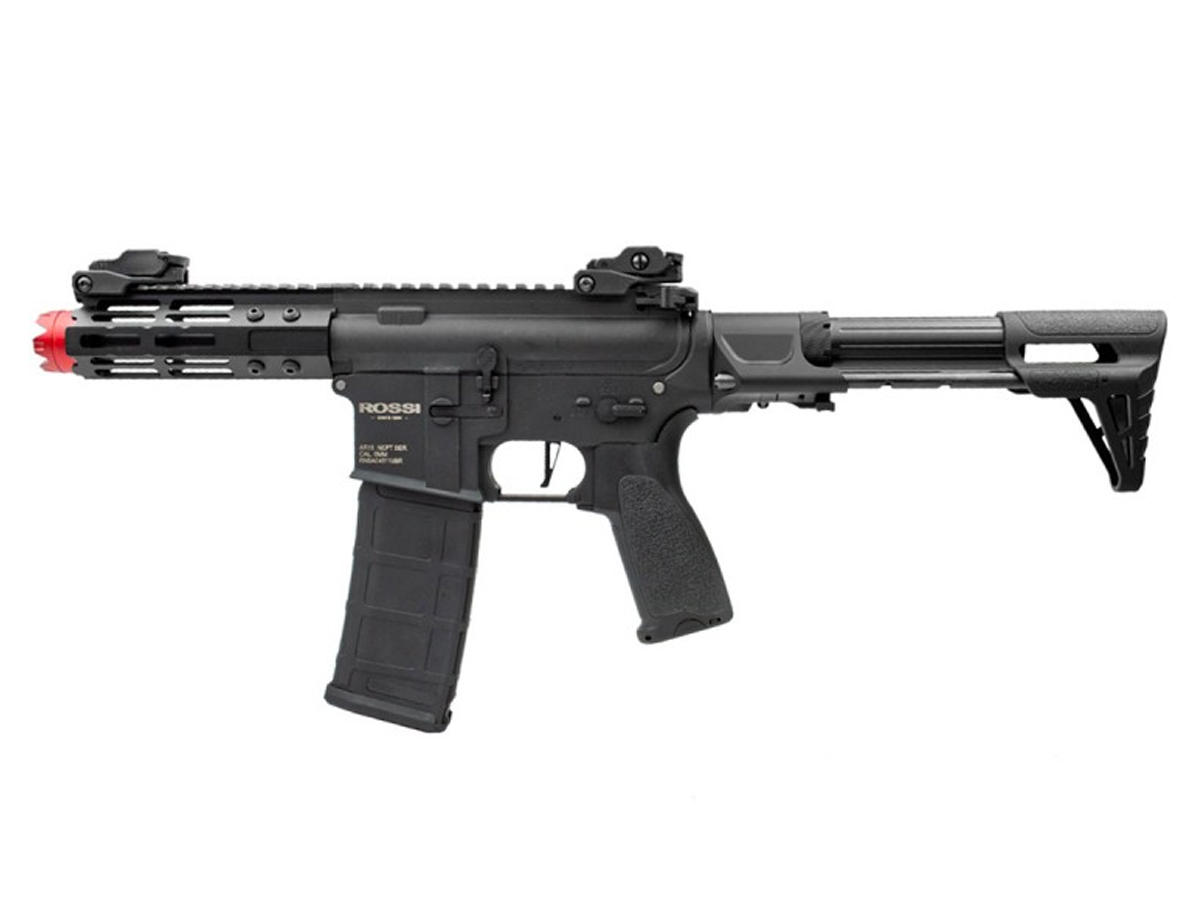 Airsoft Rifle M4 Rossi Ar15 Neptune PDW Aeg Rajada 6mm