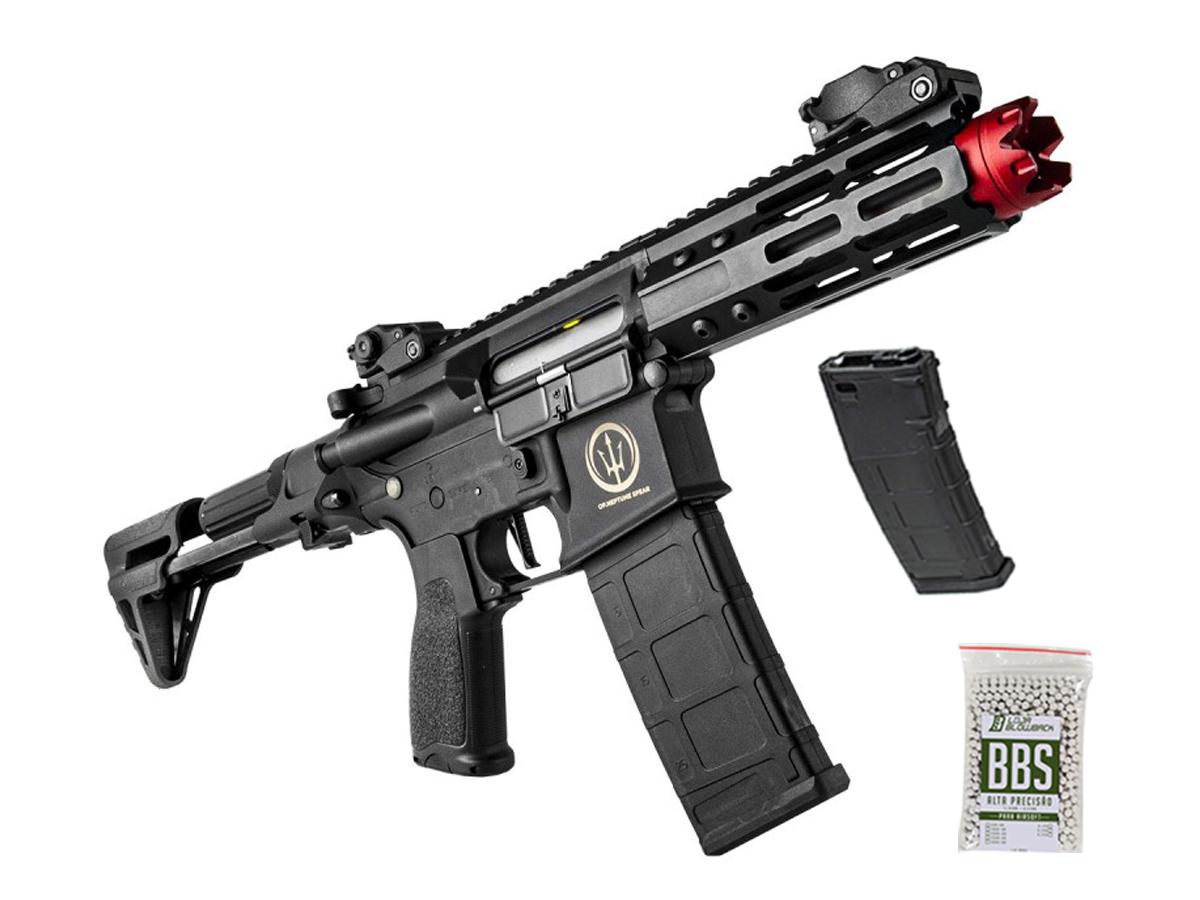 Airsoft Rifle M4 Rossi Ar15 Neptune PDW Aeg Rajada 6mm K1