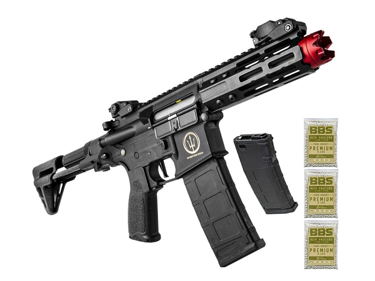 Airsoft Rifle M4 Rossi Ar15 Neptune PDW Aeg Rajada 6mm K5
