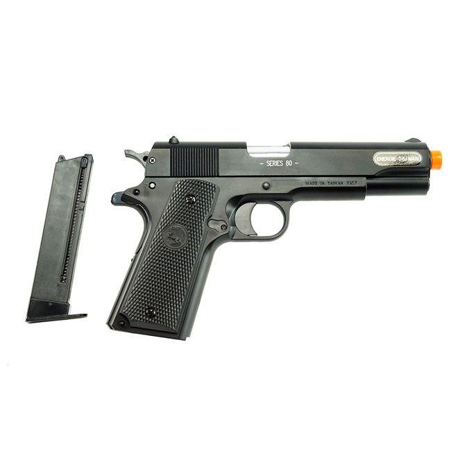 Pistola Airsoft Colt M1911 A1 Slide Metal Cybergun