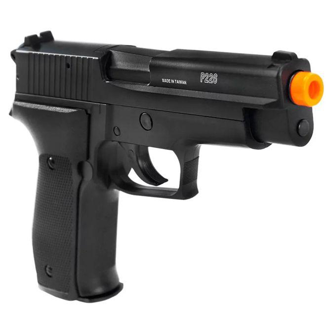 Pistola Airsoft Sig Sauer P226 Slide Metal Cybergun