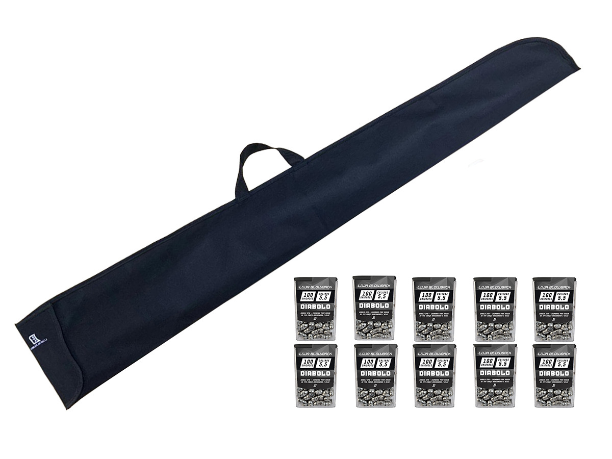 Capa Case Carabina Espingarda Pressão Protetora Blowback K2