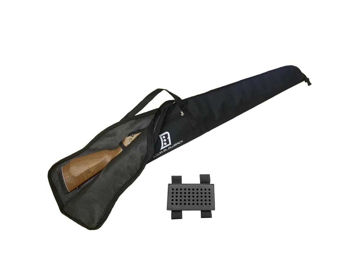 Capa Case Luxo Blowback P/ Carabina Pressão C/Proteção + Porta chumbinho