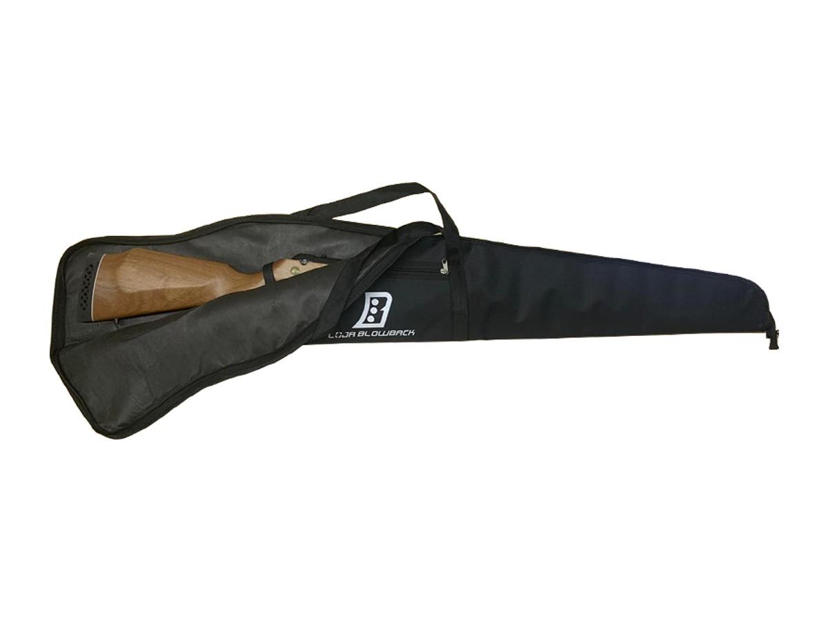 Capa Case Luxo Blowback P/Carabina Pressão C/ Proteção + 5 Pack de chumbinho
