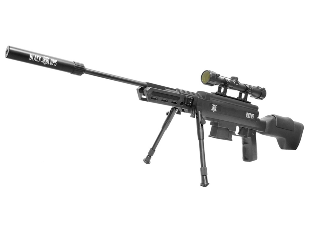 Carabina de Pressão Black Ops Gr Cal. 5,5mm K1 + Luneta