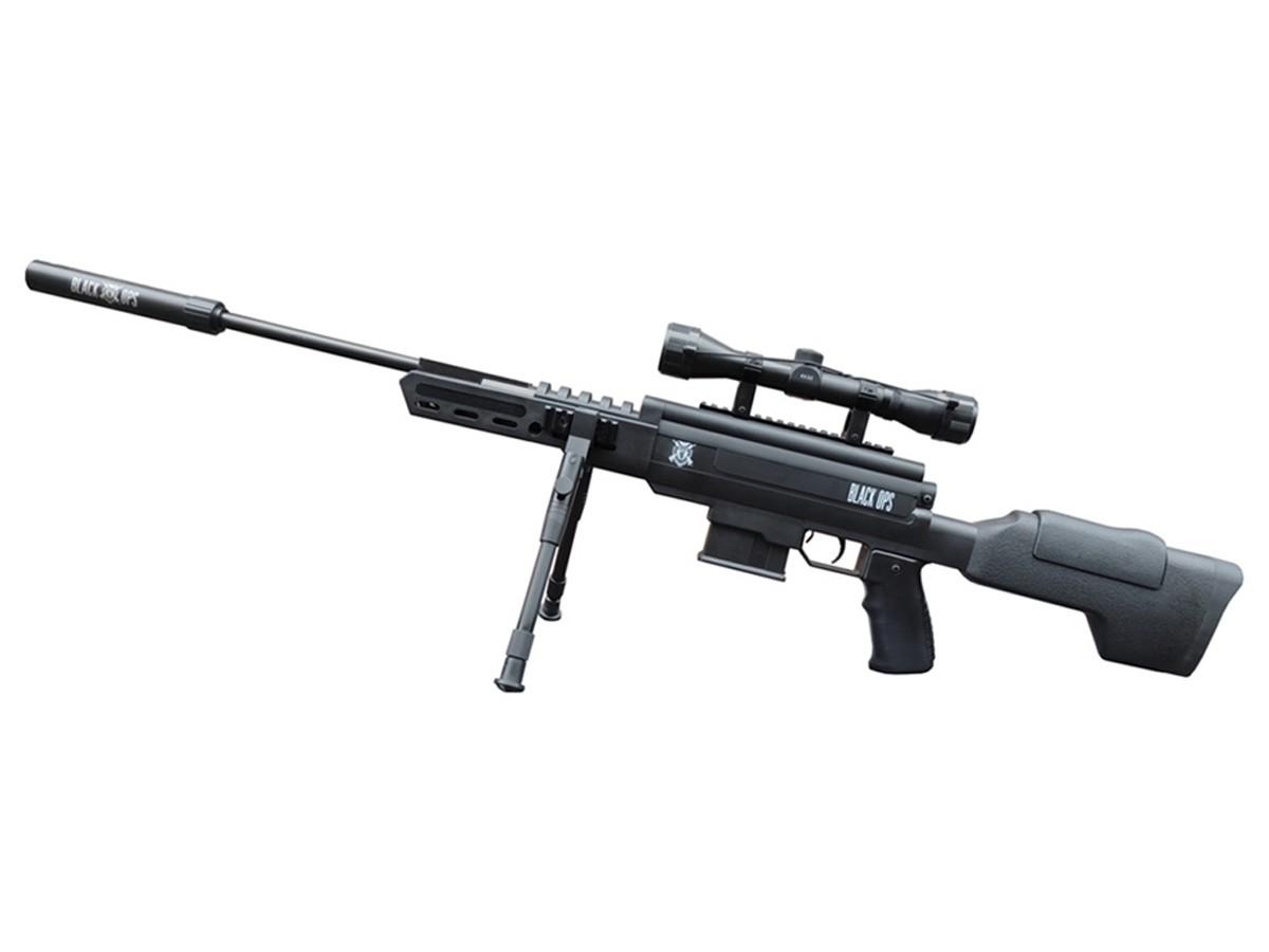 Carabina de Pressão Black Ops Gr Cal. 5,5mm K3 + Luneta