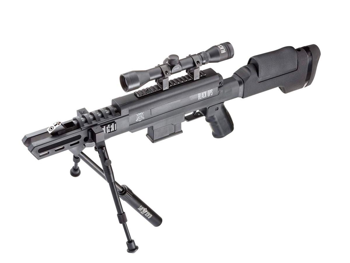 Carabina de Pressão Black Ops Gr Cal. 5,5mm K4 + Luneta