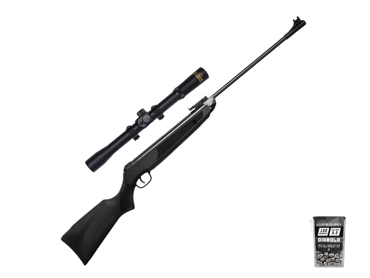 Carabina De Pressão Chumbinho Rossi Sport Airgun 5.5mm K2