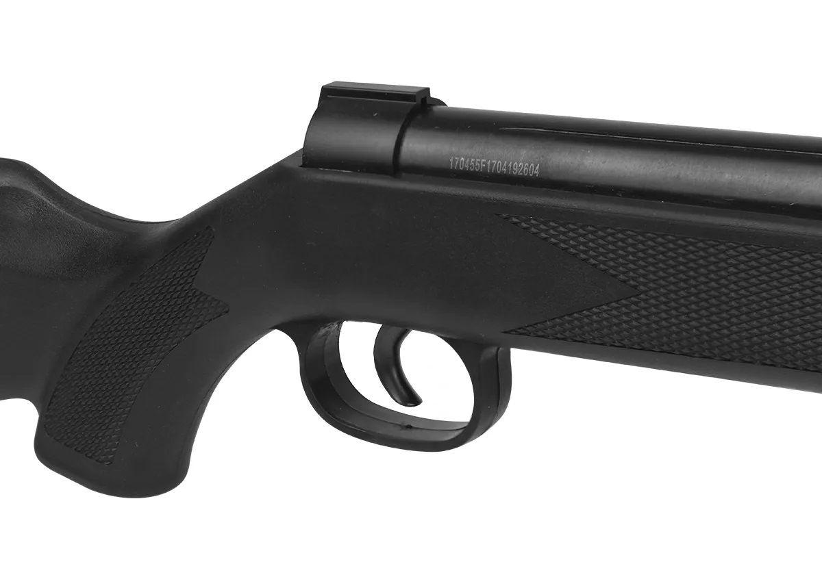 Carabina De Pressão Fixxar Ranger Black 5.5mm + 5 Pack de chumbinho + Luneta