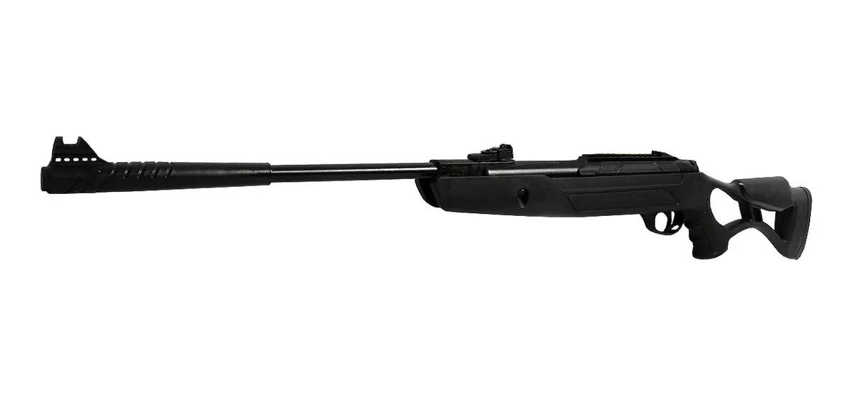 Carabina Hatsan Airtact PD Gás Ram Nitro 5,5mm + Luneta + 100 chumbinhos