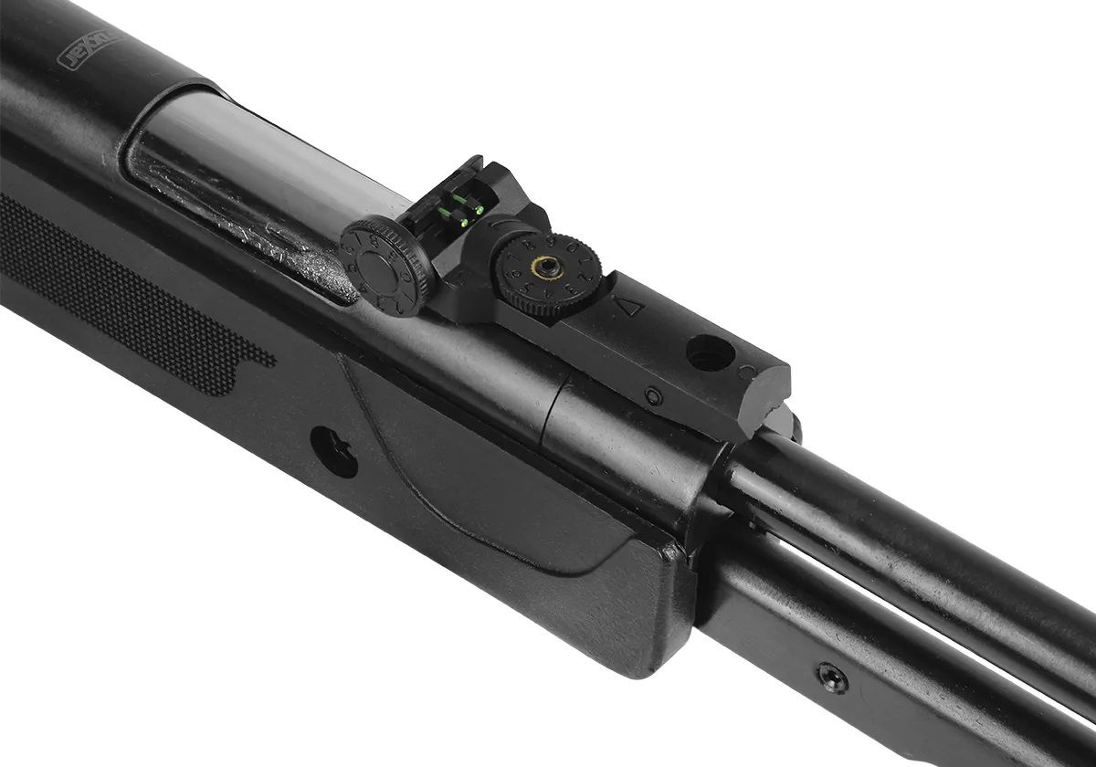 Carabina Pressão Gás Ram Fixxar Nitro Black 5.5mm + 5 Pack de chumbinho + Luneta