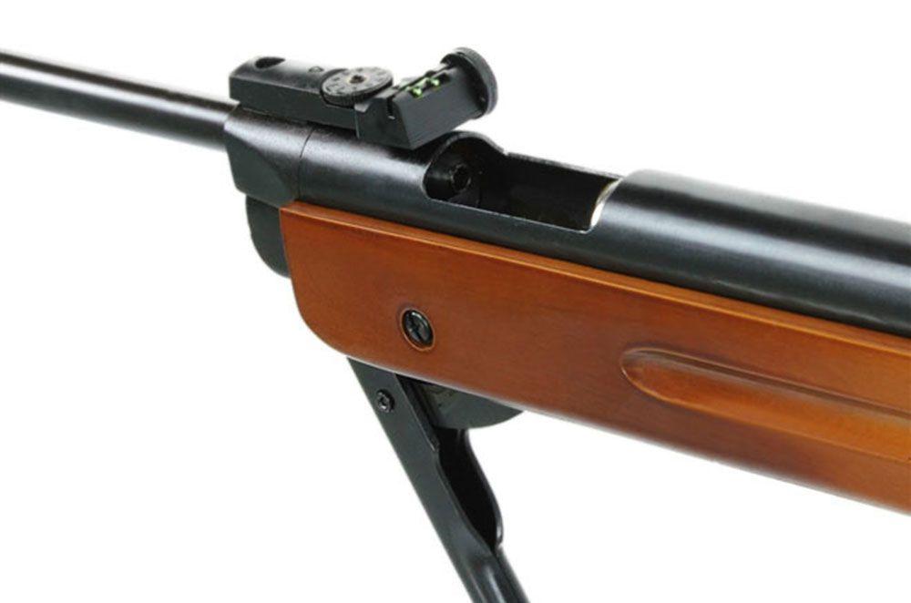 Carabina Pressão Gás Ram Fixxar Nitro West 5.5mm + 4 Pack de chumbinho + Luneta