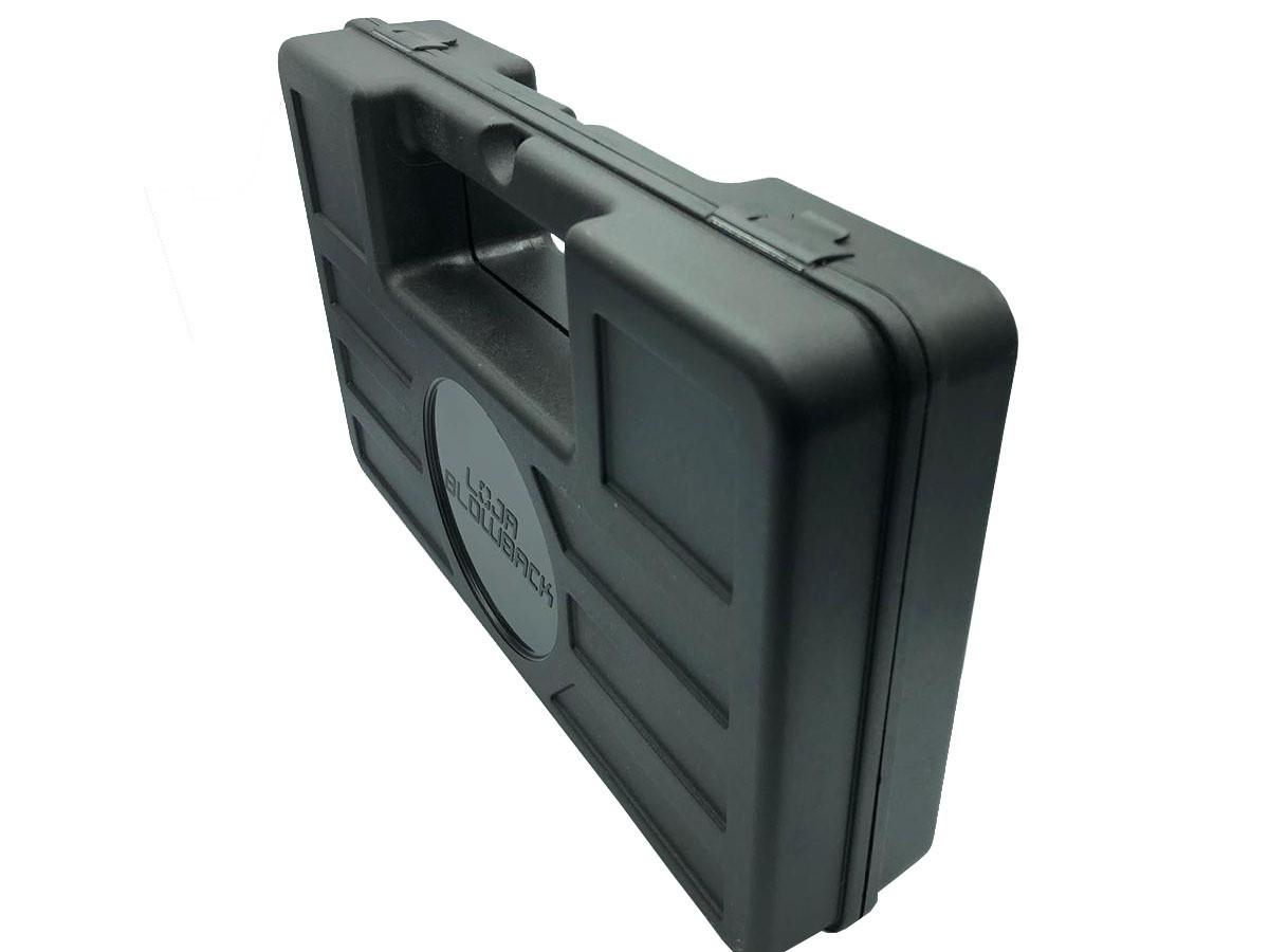 Case maleta armas pistola revolver airsoft + 2000 Bbs 0.12g