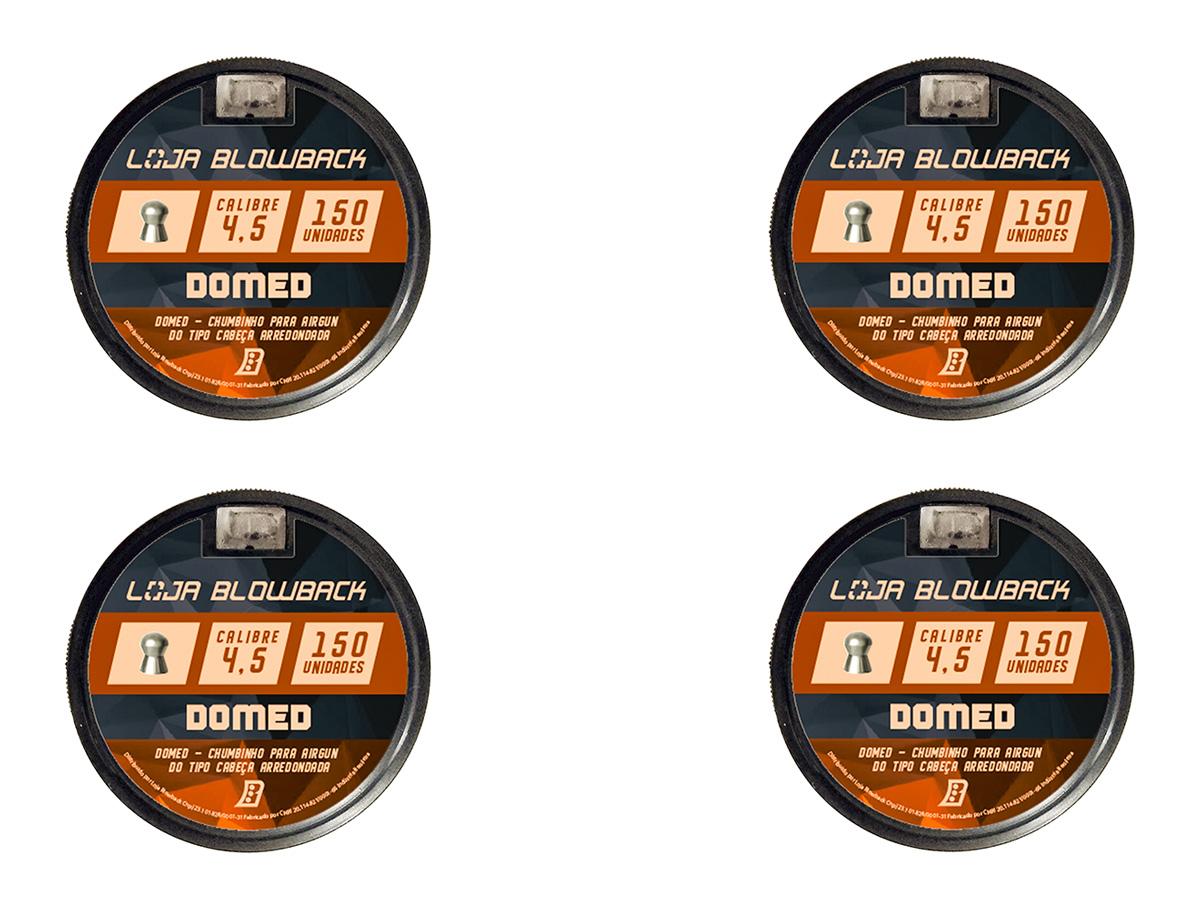 Chumbinho 4.5mm Domed P/ Carabina Pressão Premium 600un