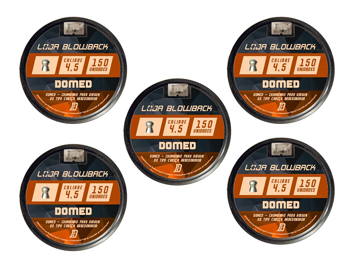 Chumbinho 4.5mm Domed P/ Carabina Pressão Premium 750un