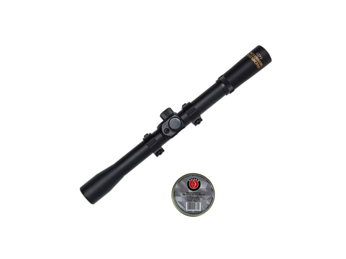 Chumbinho 4.5mm Hatsan Match 200un Carabina Pistola Airgun 3