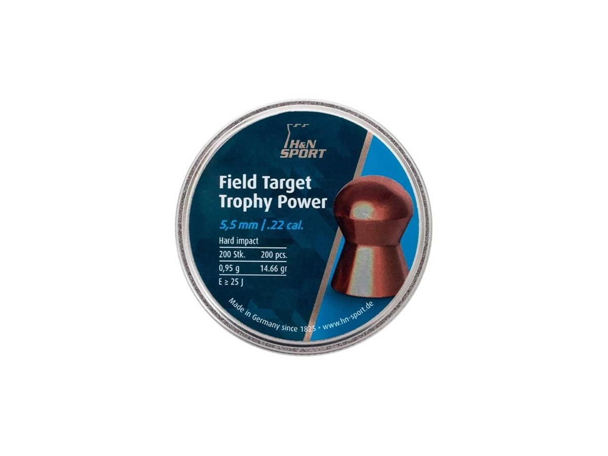 Chumbinho 5.5mm H&N Field Target Trophy Power Carabina 200un