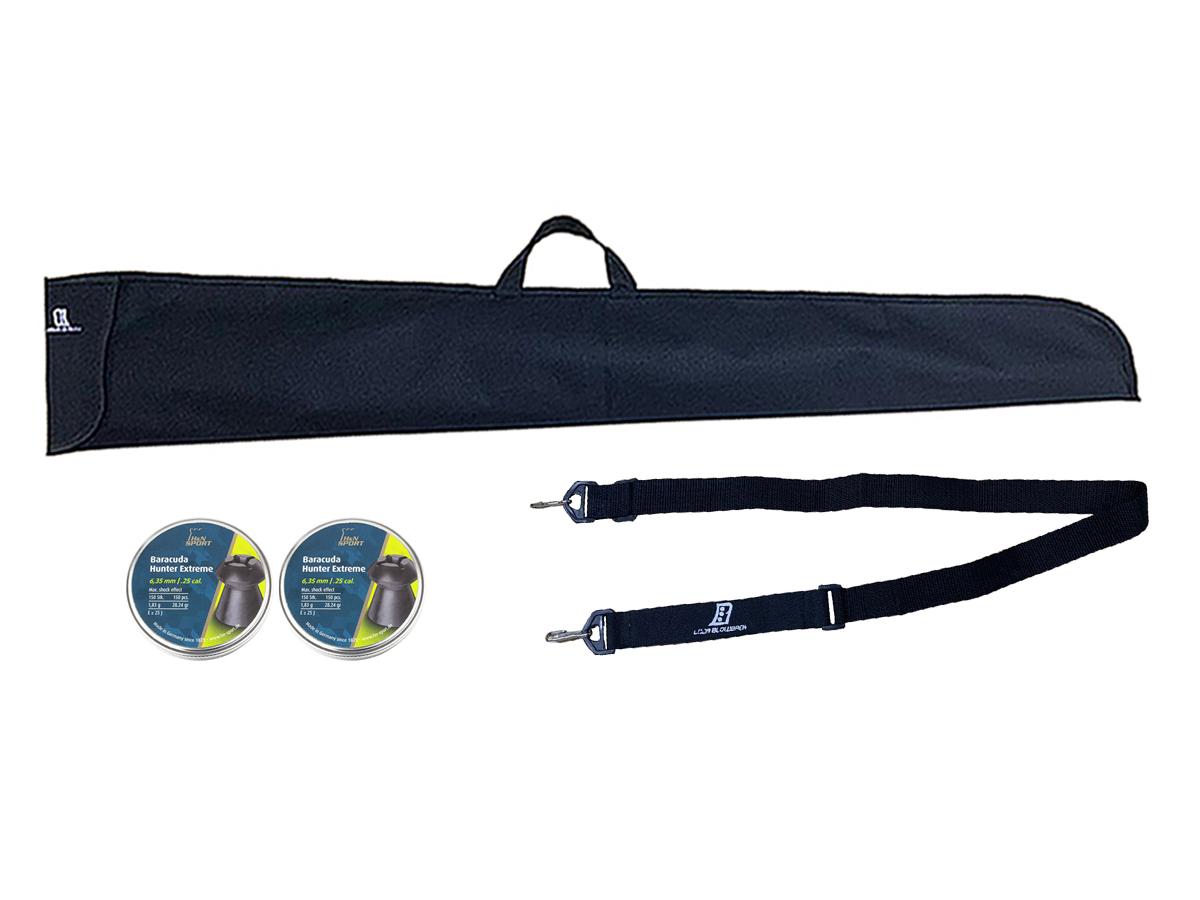 Chumbinho 6.35mm H&N Baracuda Hunter Extreme 300un Kit 7