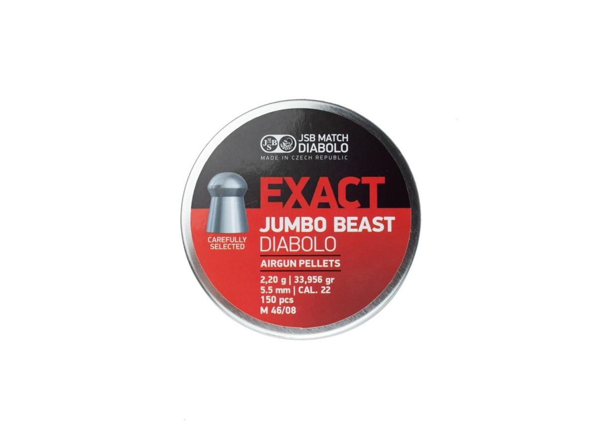 Chumbinho Jsb Exact Jumbo Beast Diabolo Cal 5,5mm (150 UN)