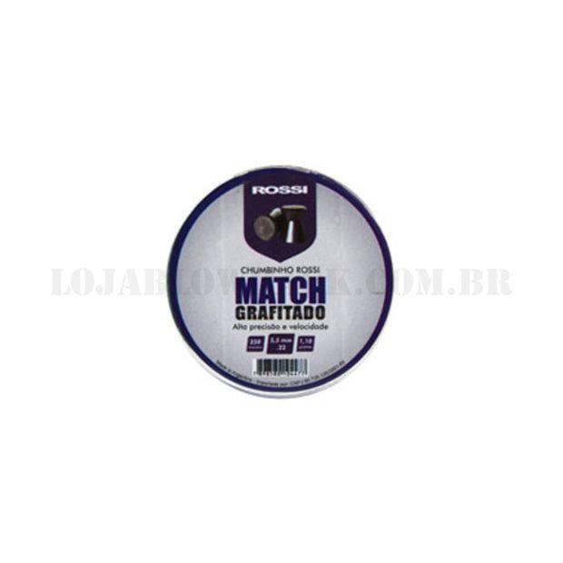 Chumbinho Match Grafitado - Cal 5,5 250 un