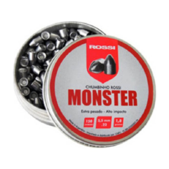Chumbinho Monster - Cal 5,5mm 150 un