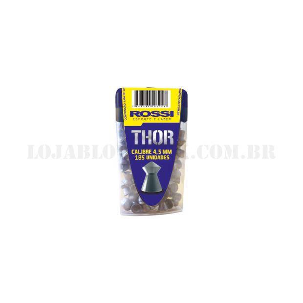 Chumbinho Thor Rossi - Cal 4,5mm 185 Un