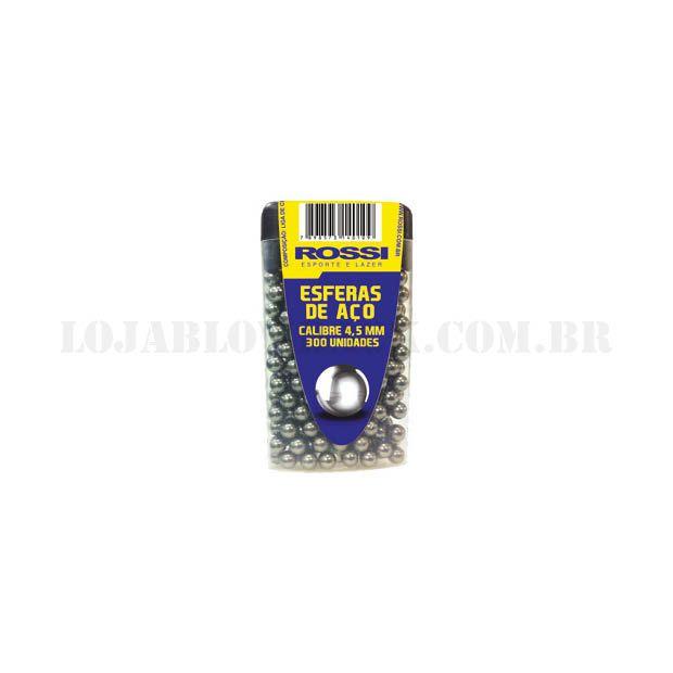 Esferas de Aço Rossi - Cal 4,5mm 300 Un