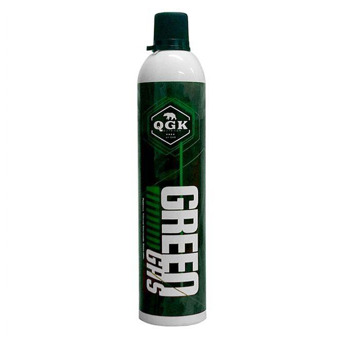 GREEN GÁS PARA AIRSOFT GBB COM BICO