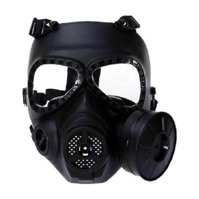 Mascara Anti gas airsoft FMA Preta com Ventoinha