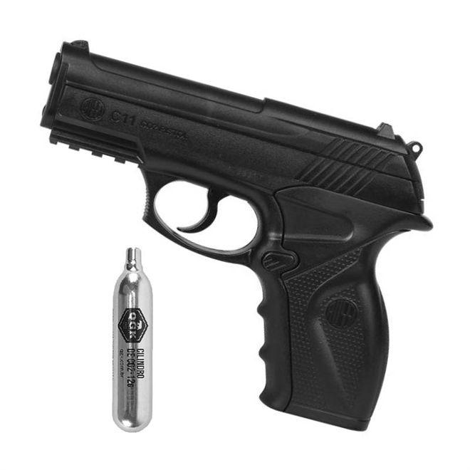 Pistola de Pressão Rossi C11 4,5mm CO2 Airgun