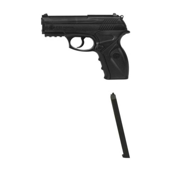 Pistola de Pressão Rossi C11 4,5mm CO2 Airgun