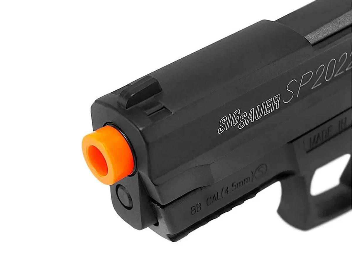 Pistola Airgun Co2 Sig Sauer Sp2022 Slide Metal 4,5mm Kit 22