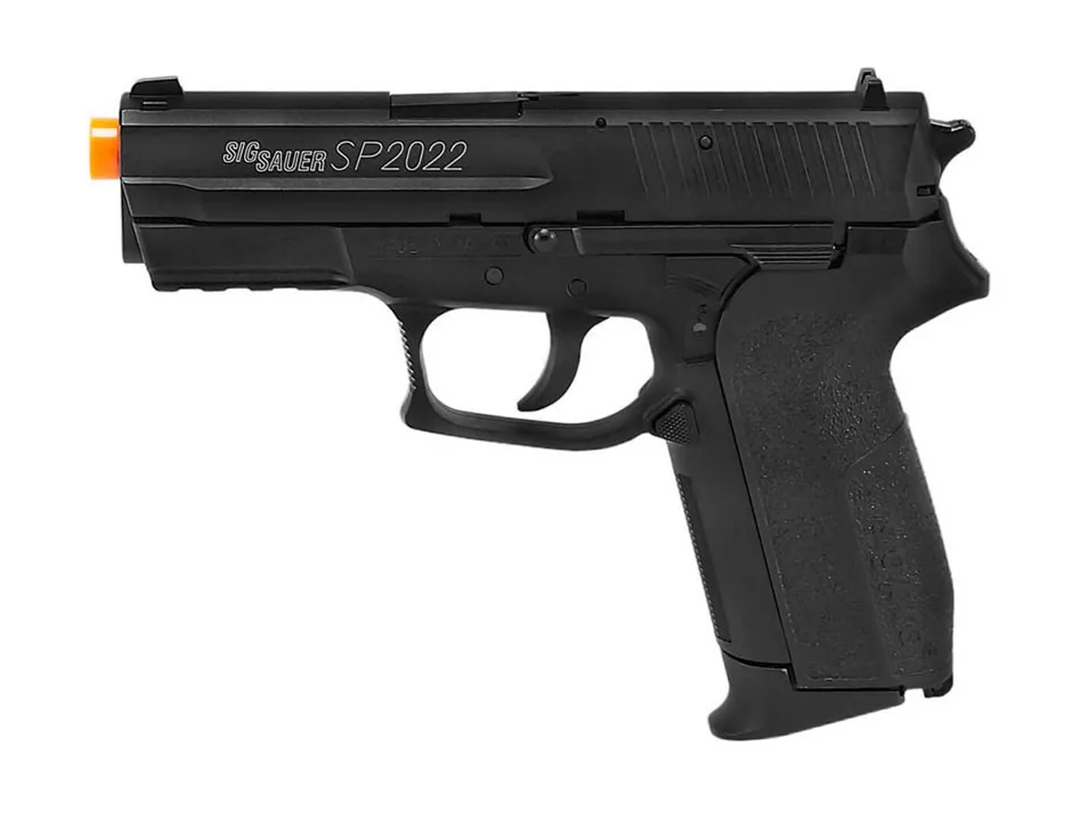 Pistola Airgun Co2 Sig Sauer Sp2022 Slide Metal 4,5mm Kit 6