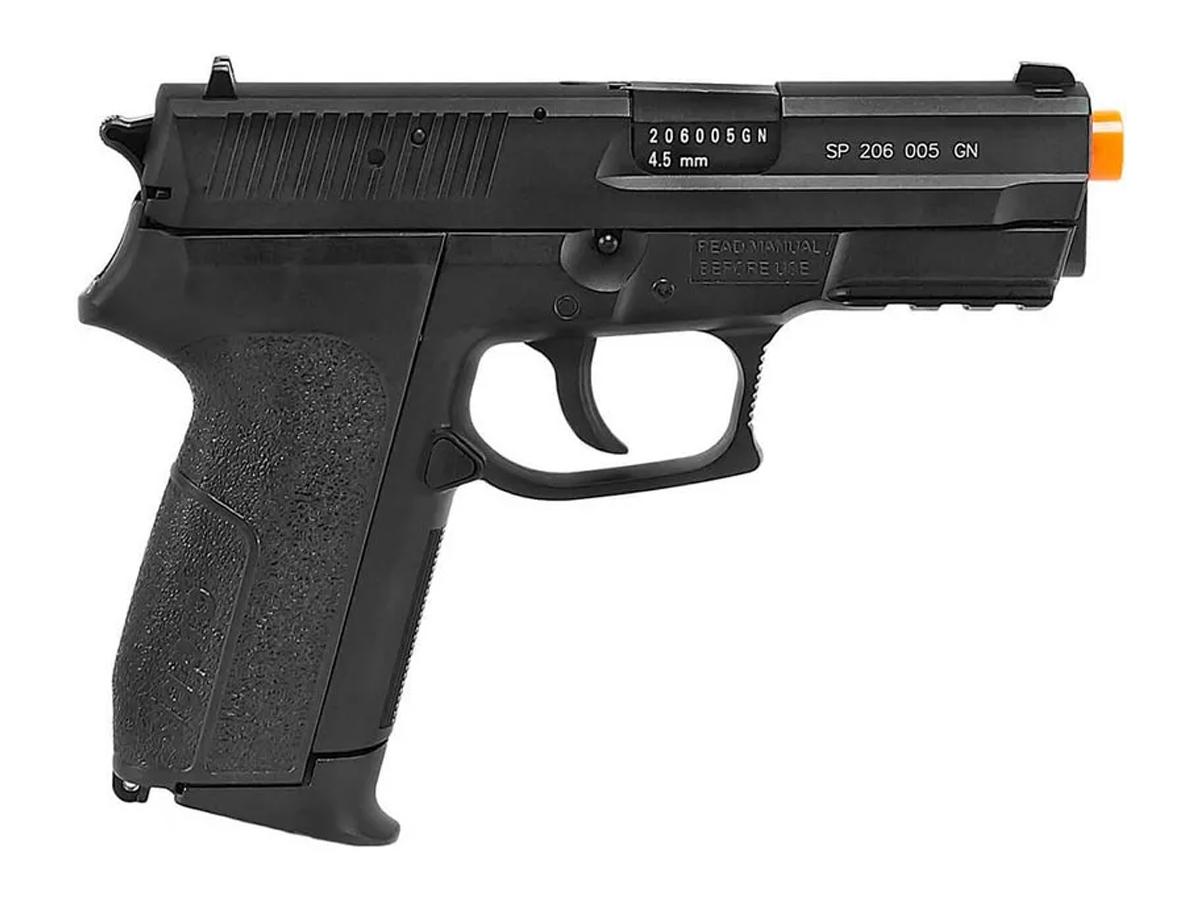 Pistola Airgun Co2 Sig Sauer Sp2022 Slide Metal 4,5mm Kit 8