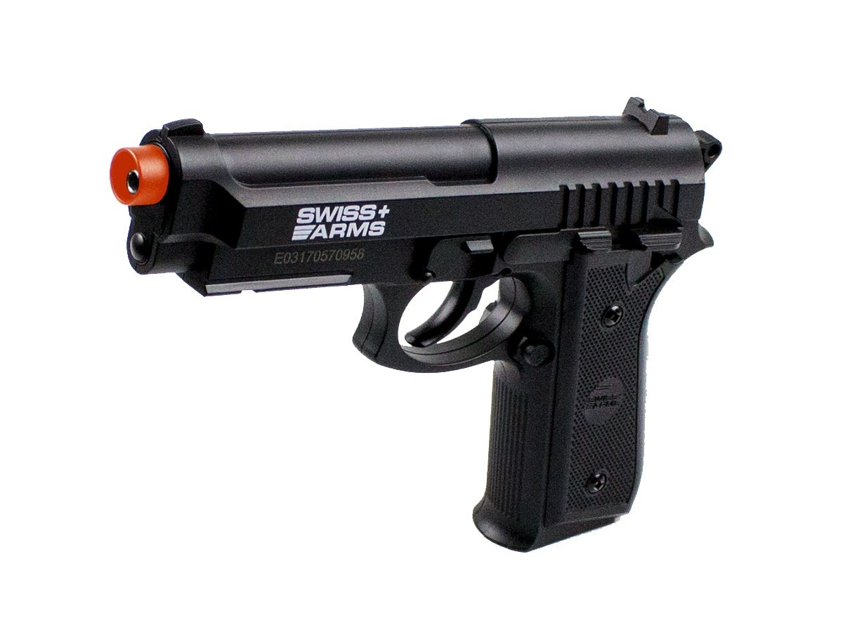 Pistola Airgun Co2 Swiss Arms PT92 Gnbb Cybergun 4,5mm K3