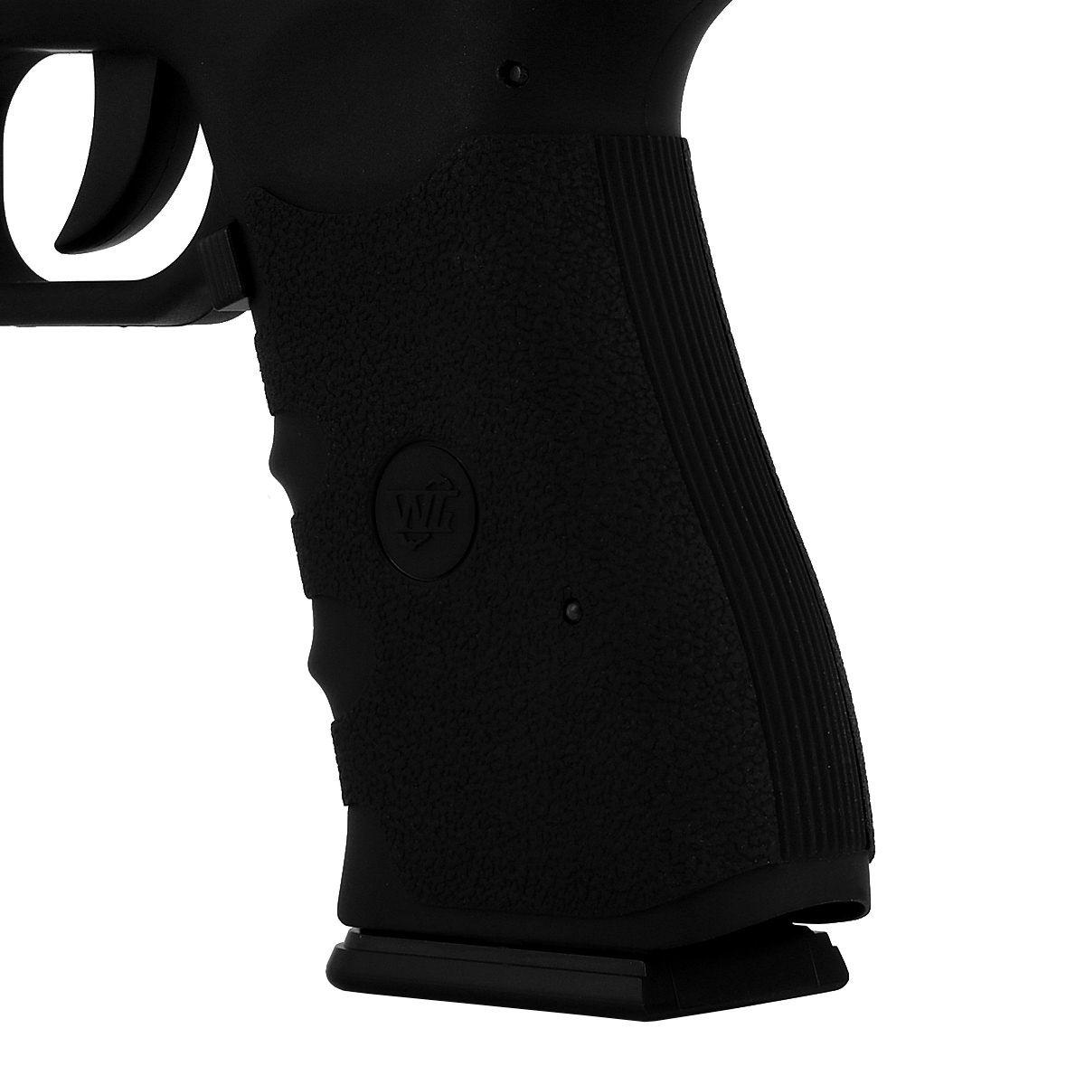 Pistola Airgun Gás Co2 Win Gun Glock W119 Blowback 4,5mm