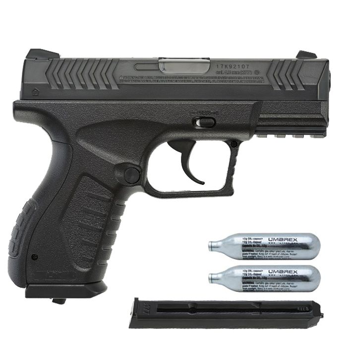 Pistola Airgun Umarex XBG 4,5mm Co2 Semi-automático