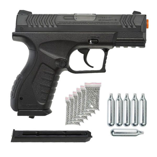 Pistola Airgun Umarex Xbg 4,5mm Co2 Semi-automático He6