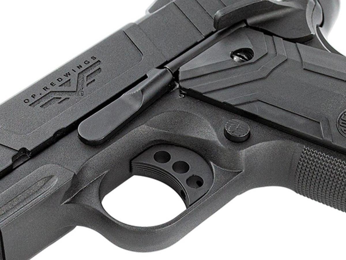 Pistola de Airsoft 1911 Gbb Slide Metal C/ Blowback Rossi 6mm + Green Gás loja Blowback + 1000 Bbs 0,20g loja Blowback + Maleta