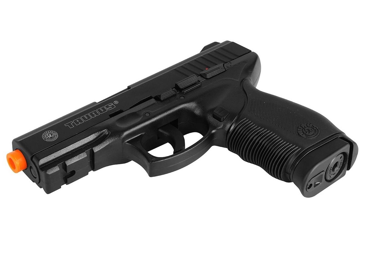 Pistola Airsoft 24/7 Co2 Taurus Slide Metal Cybergun 6mm H13