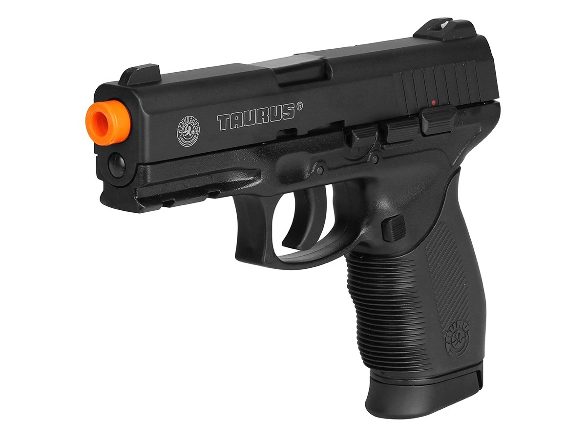 Pistola Airsoft 24/7 Co2 Taurus Slide Metal Cybergun 6mm H3