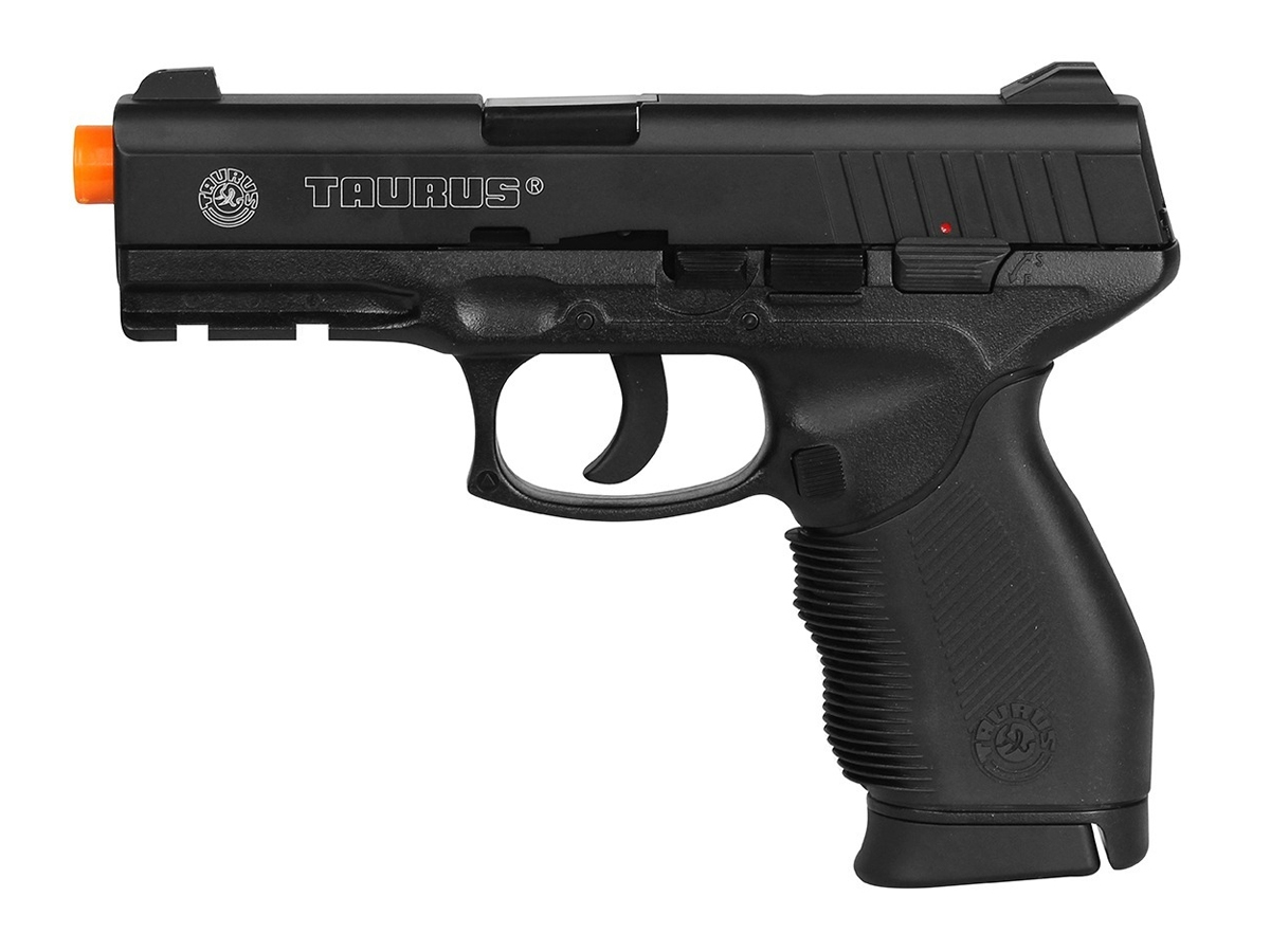 Pistola Airsoft 24/7 Co2 Taurus Slide Metal Cybergun 6mm H9