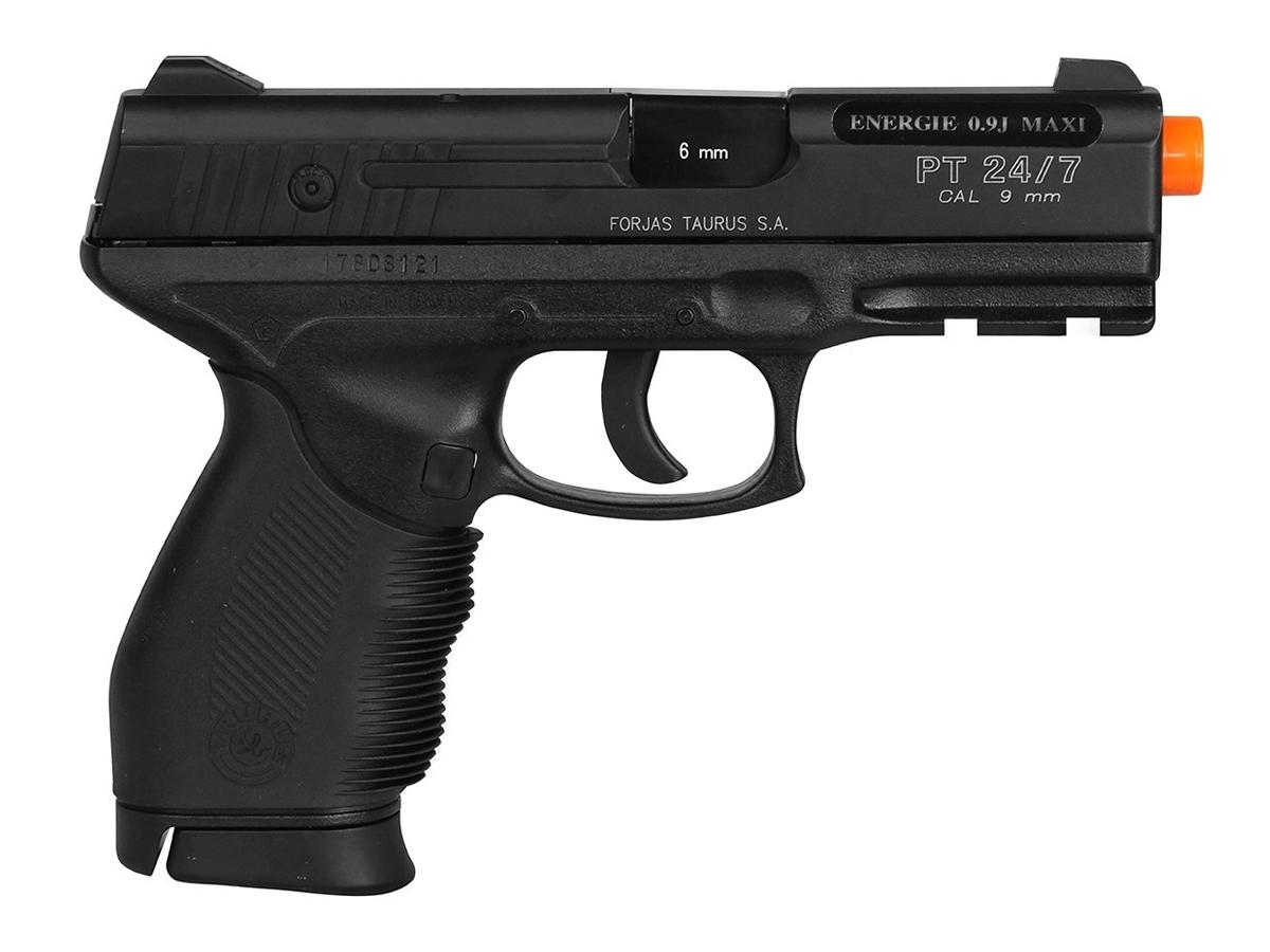 Pistola Airsoft 24/7 Co2 Taurus Slide Metal Cybergun 6mm K7